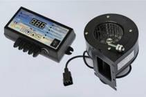Комплект автоматики польского производства Nowosolar PK-22 + NWS 75 для твердотопливных котлов, фото 3