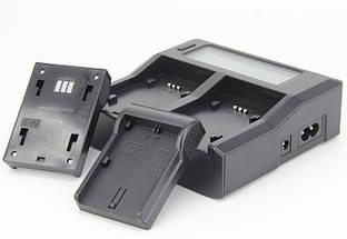 Профессиональное зарядное устройство J-DC-LCD для SONY A7 III, A7 IV, A9, A6600 (аккумулятор NP-Z100), фото 2