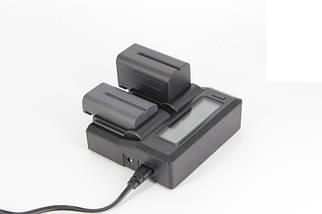 Профессиональное зарядное устройство J-DC-LCD для SONY A7 III, A7 IV, A9, A6600 (аккумулятор NP-Z100), фото 3