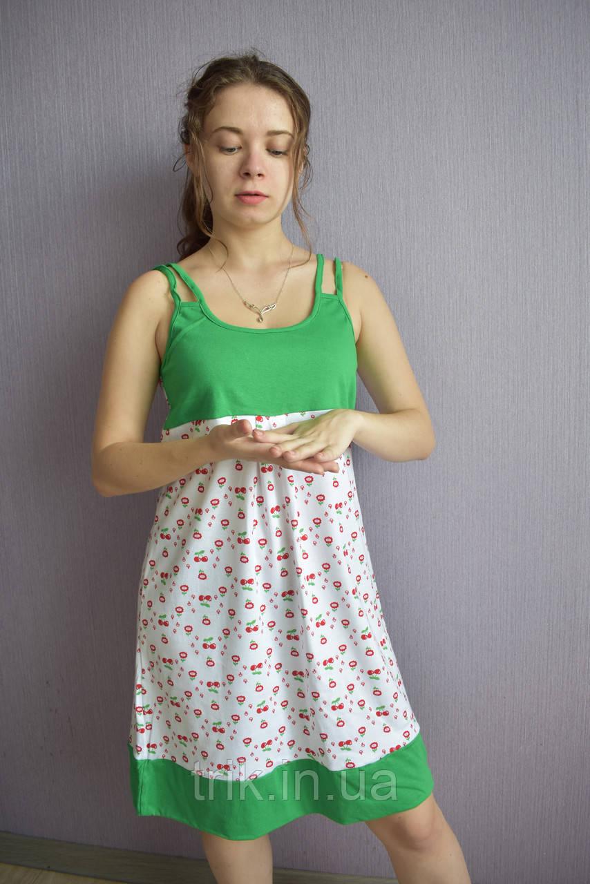Ночная сорочка для девушек рибана комбинированная
