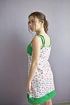 Ночная сорочка для девушек рибана комбинированная, фото 2