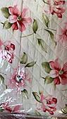 Сверхлегкое полуторное одеяло на лето в цветы