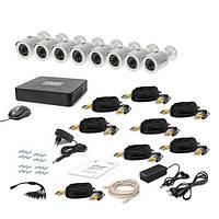 AHD Комплект видеонаблюдения для быстрой установки Tecsar 8OUT