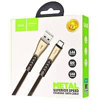 """Кабель  USB / TYPE-C """"U48 Superior Speed 1,2 м Black"""