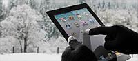 Перчатки тачскрин для сенсорных мобильных телефонов и прочих устройств