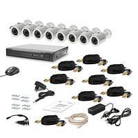 AHD Комплект видеонаблюдения для быстрой установки Tecsar 8OUT LUX
