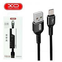 "Кабель  USB / TYPE-C ""XO NB30""  1m Black"