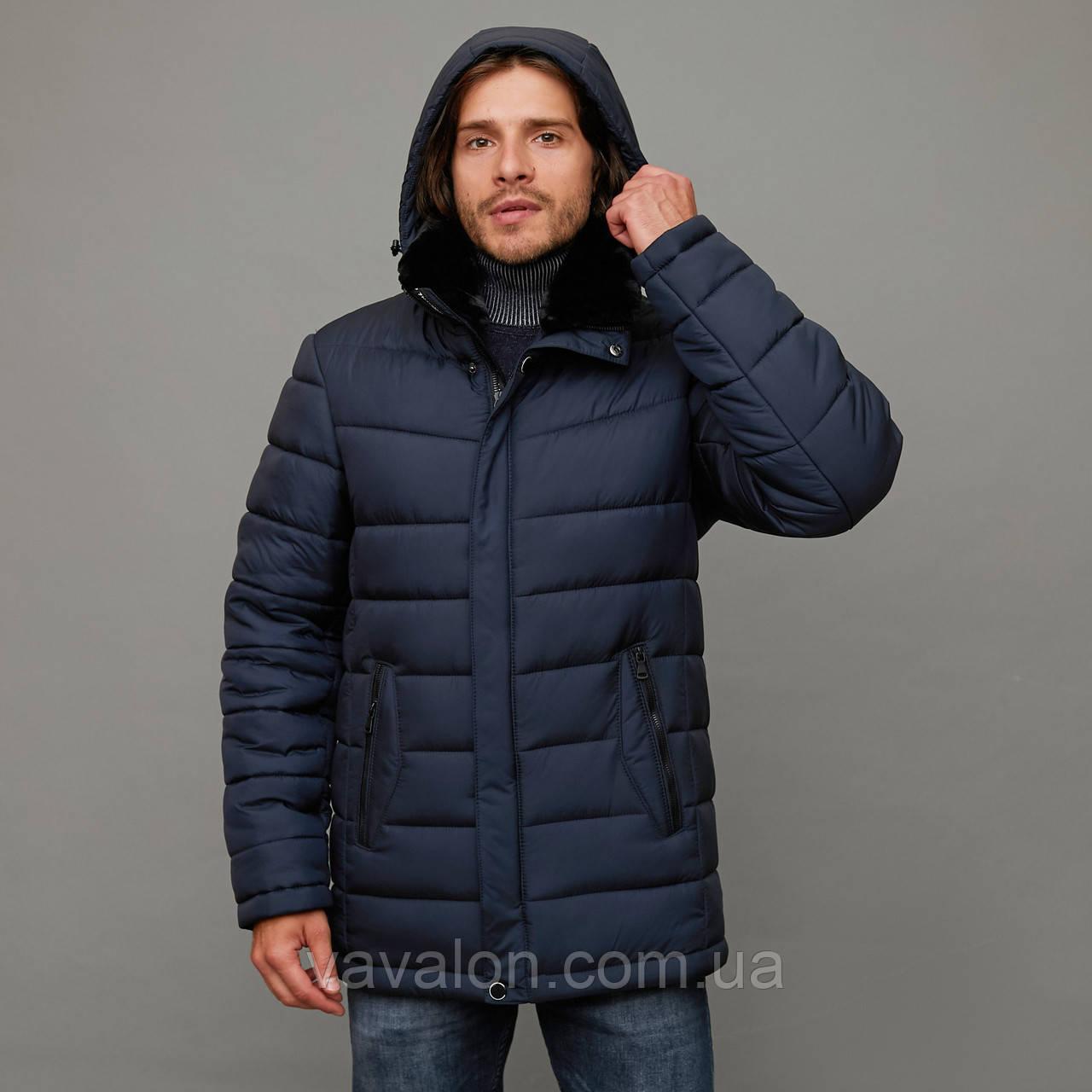Зимняя мужская куртка Vavalon KZ-912 navy