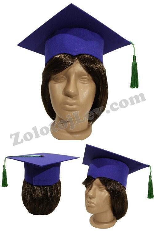 Квадратна шапка магістра для дитини