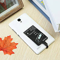 Конектор для бездротової зарядки MicroUsb Input:5v OutPut:1000mA Black (блістер)