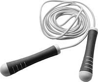 Скакалка спортивная с утяжелителями на ручках Power System Серый