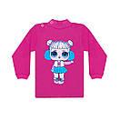 Дитячий кольоровий джемпер з малюнком LOL для дівчинки інтерлок, фото 3