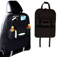 Органайзер для спинки сиденья автомобиля Vehicle mounted storage bag черный