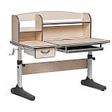 Комплект зростаюча парта для школярів Cubby Ammi Grey + ергономічне крісло FunDesk Pratico Mint, фото 5
