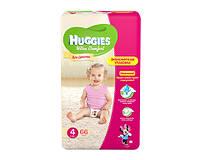 Huggies Ultra Comfort для девочек 4 66 шт