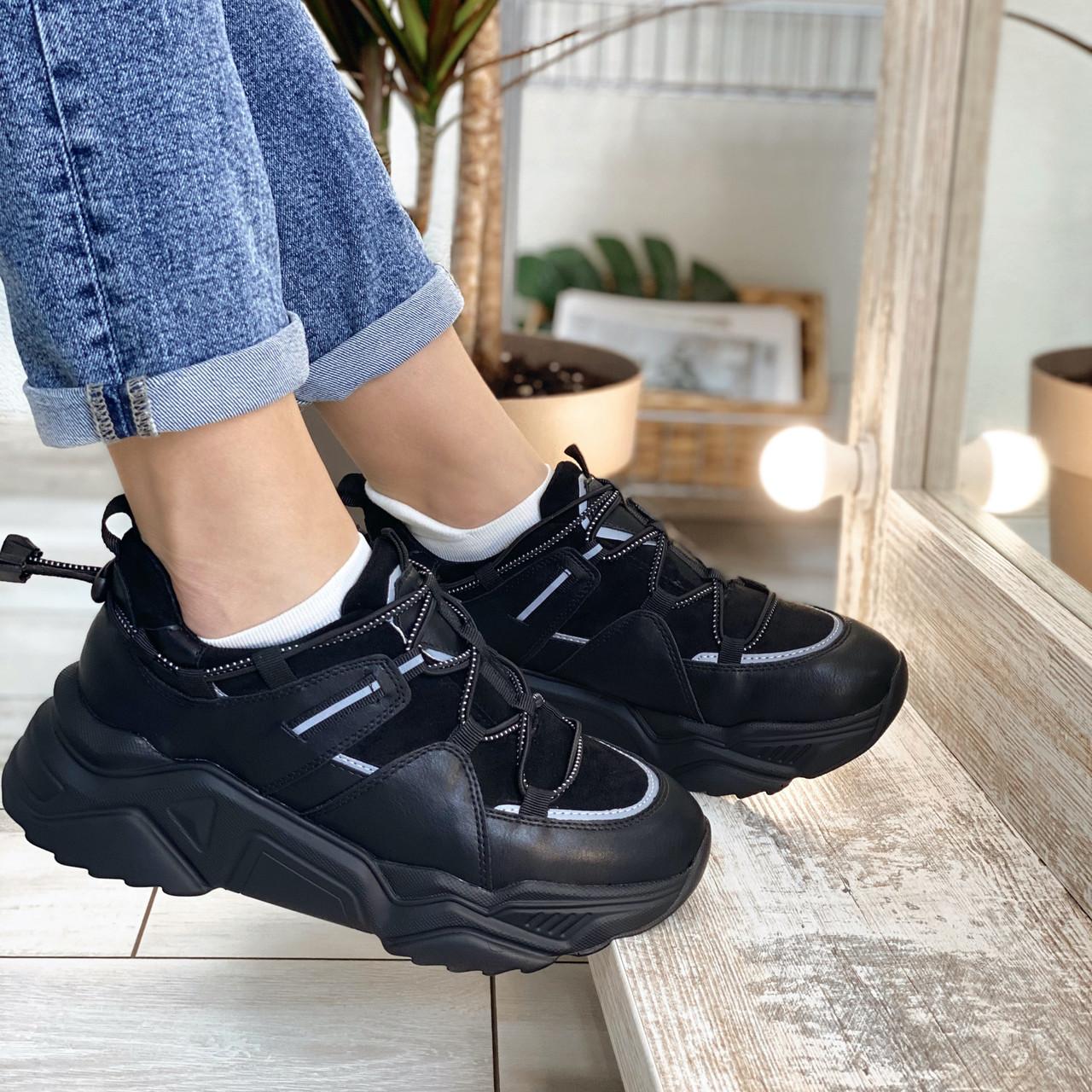 Жіночі кросівки чорні