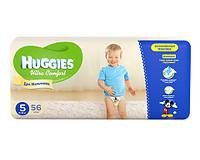 Huggies Ultra Comfort для мальчиков 5 56 шт
