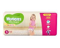 Huggies Ultra Comfort для девочек 5 56 шт