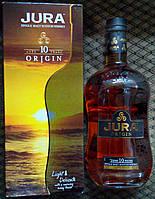 Шотландский островной односолодовый виски Jura Origin 10 лет в ПУ 1л