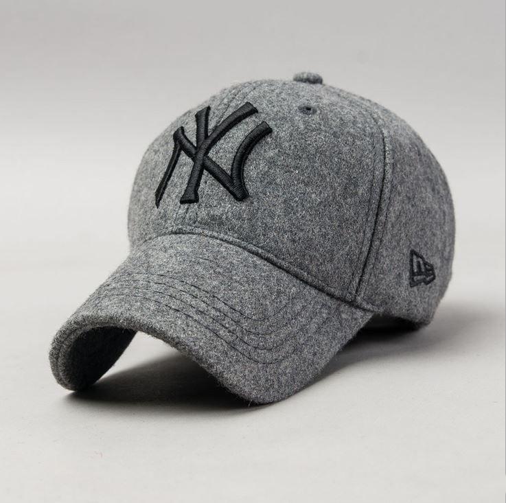 Оригинальные кепки бейсболки NEW York Шерстяные зимние Головной убор  Качество оригинал. Код  КЕ209 9f6cdf7ae0584