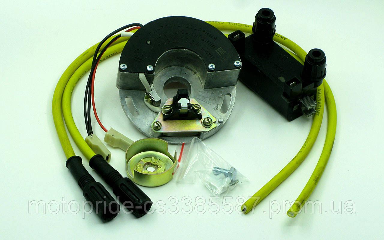 Микропроцессорная бесконтактная система зажигания с катушкой зажигания и высоковольтными проводами