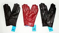 Перчатки женские кожаные № Б14