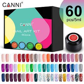 Набір гель-фарб CANNI Nail Art Kit 60 шт*5 мл