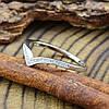 Серебряное кольцо ТС510089б вставка белые фианиты вес 1.1 г размер 14, фото 2