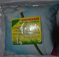 Подушка травяная «Сонная» 22x22см (бязь)