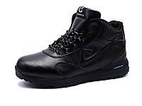 Кроссовки зимние Classica, мужские черные, на меху, фото 1