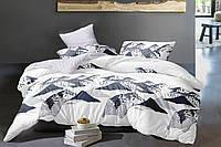 Комплект постельного белья Семейный(150х205) Горы Ранфорс от Brettani