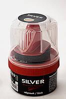 Крем блеск для обуви Silver черный 50 мл