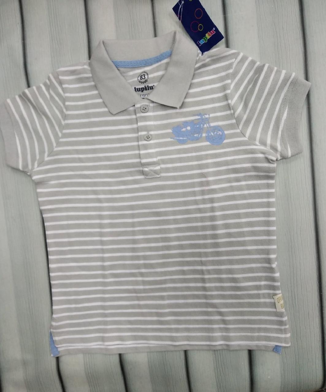 Рубашка поло короткий рукав для мальчика