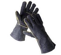 Перчатки с крагами SANDPIPER BLACK / ЧЕХИЯ