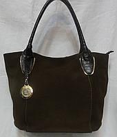 Женская замшевая сумка., фото 1