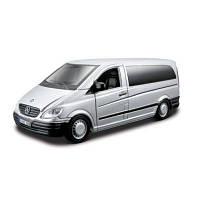 Автомодель - Mercedes-Benz Vito (Серебристый, Черный , 1:32) 18-43028