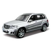 Автомодель - Mercedes Benz Glk-Class (Красный, Серебристый, 1:32) 18-43016
