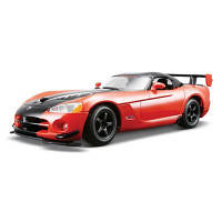 Автомодель - Dodge Viper Srt10 Acr (Оранж-Черн Металлик, Красн-Черн Металлик, 1:24) 18-22114