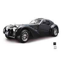 Автомодель - Bugatti Atlantic (1936) (Синий, Серебристый, 1:24) 18-22092