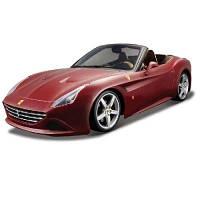 Автомодель - Ferrari California T (Ассорти Бордо, Серый Металлик, 1:24)  18-26002
