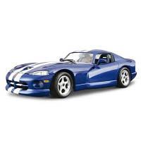 Авто-Конструктор - Dodge Viper Gts Coupe (1996) Синий, 1:24 Bburago 18-25023