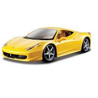 Автомодель - 458 ITALIA (жовтий, червоний, 1:24) 18-26003