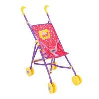 Коляска Peppa для кукол Веселая прогулка прогулочная складная 1423153