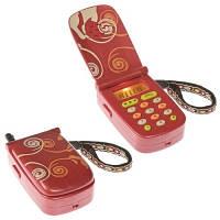 Развивающая игрушка Первый телефон свет звук красный Battat BX1177Z
