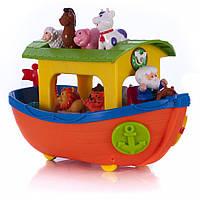 Игровой набор Ноев ковчег на колесах на украинском языке Kiddieland 031881
