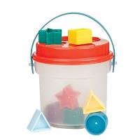 Развивающая игрушка сортер Цветное ведерце 8 форм BT2405Z Battat Lite