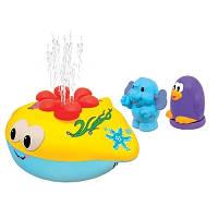 Развивающая игрушка Веселые Фонтанчики для игры в ванной звук Kiddieland 051664