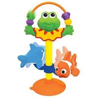 Игрушка на присоске Лягушка звук Kiddieland 047829