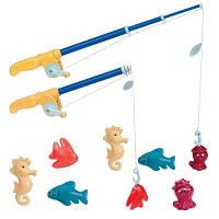 Игровой набор Магнитная рыбалка делюкс 2 удочки 8 морских животных Battat Lite BT2433Z