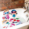 Игровой набор для ванной стикеры НАРЯДЫ ФЭНТЕЗИ 32 детали Meadow Kids MK 031